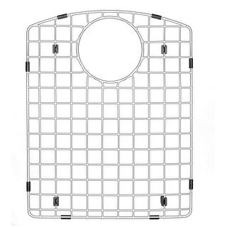 "Karran Stainless Steel Bottom Grid fits QT-610 and QU-610 - 12-1/2"" x 15-3/4"""