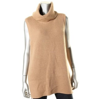 BOSS Hugo Boss Womens Wool Ribbed Trim Sweater Vest