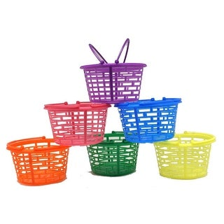 Plastic Bright Round Baskets
