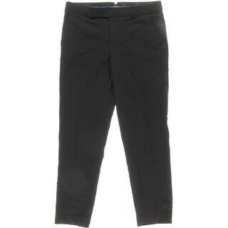 Polo Ralph Lauren Womens Wool Satin-Trim Tuxedo Pant - 8
