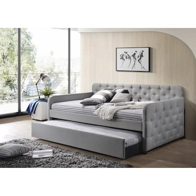 Uma Upholstered Daybed with Trundle