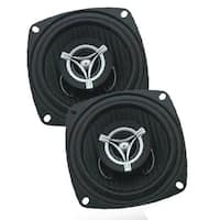 Power Acoustik EF42 4 in. 2-Way Edge Series 250W Coaxial Speakers