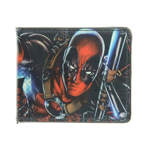Marvel Deadpool Action Pose Wallet - One Size Fits most