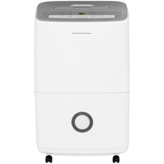 Frigidaire FFAD7033R1 Energy Star 70 Pint Portable Dehumidifier with 3 Fan Speeds and Continuous Drain