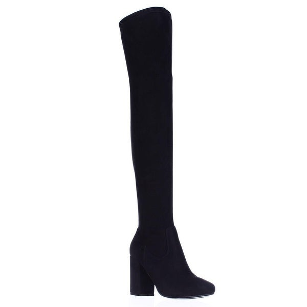 Carlos by Carlos Santana Rumer Over the Knee Slouch Boots, Black