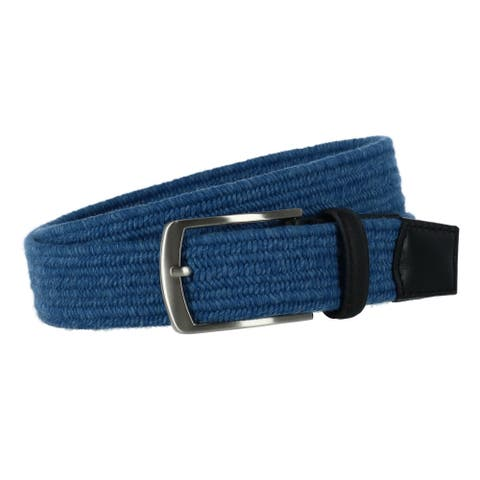 Greg Norman Men's Heather Elastic Stretch Belt