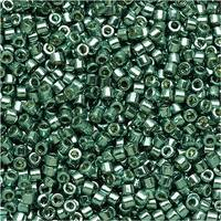 Miyuki Delica Seed Beads 11/0 - Duracoat Galvanized Dark Sea Foam DB1846 7.2 Grams