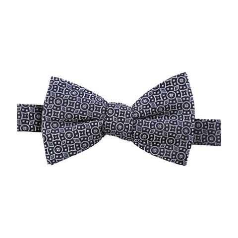 Countess Mara Mens Watson Text Paisley Self-Tied Bow Tie - One Size