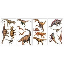 "Roommates RMK1043SCS Dinosaur Wall Decals, 10"" x 18"""