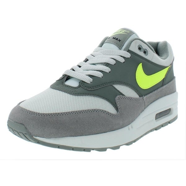 Shop Nike Mens Air Max 1 Athletic Shoes Leather Trainer