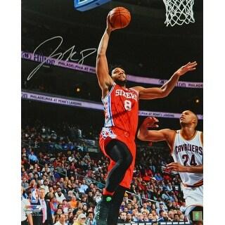 Jahlil Okafor Philadelphia 76ers Action vs Cavaliers 16x20 Photo