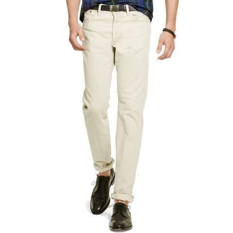 Polo Ralph Lauren Men's Varick Slim Straight Stretch Jeans