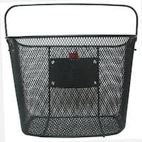 Evo E-Cargo Quick Release Steel Mesh Traveler II Bicycle Handlebar Basket - HT-280
