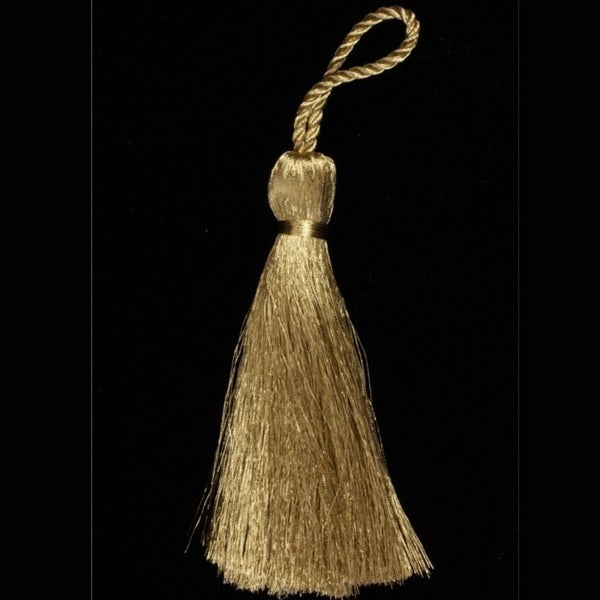 Shop Club Pack Of 20 Decorative Large Gold Metallic Tassels 4