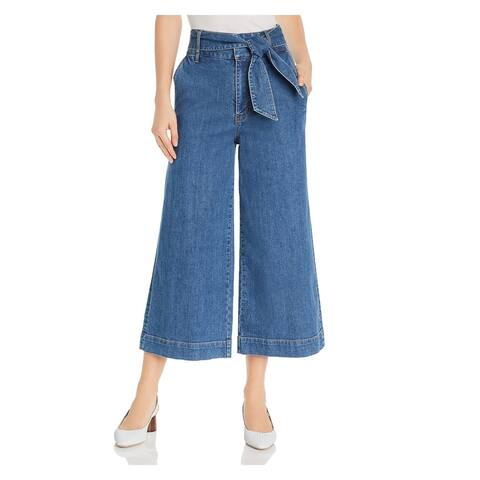 JOIE Womens Blue Pocketed Wide Leg Jeans Size 2
