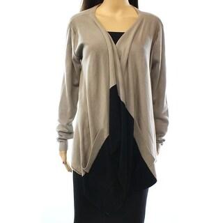 Grace Elements NEW Brown Black Women's Size Large L Cardigan Sweater
