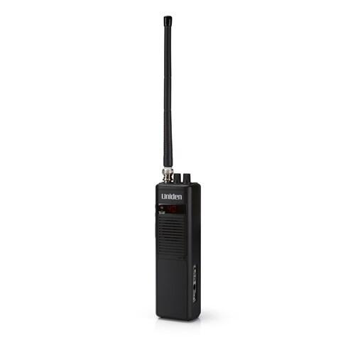 Uniden PRO401HH Handheld CB Radio with BNC Antenna