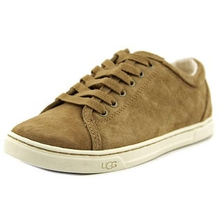 Ugg Australia Tomi Women Round Toe Suede Tan Sneakers