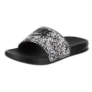 Nike Men's Benassi JDI Print White/Black Sandal|https://ak1.ostkcdn.com/images/products/is/images/direct/9904d47c07220283e9f3ccdde843efb036b9efb4/Nike-Men%27s-Benassi-JDI-Print-White-Black-Sandal.jpg?impolicy=medium
