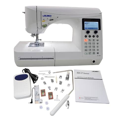 """Juki Exceed HZL F600 Quilt Pro Special Computerized Sewing Machine - 1"""" x 1"""" x 1"""""""