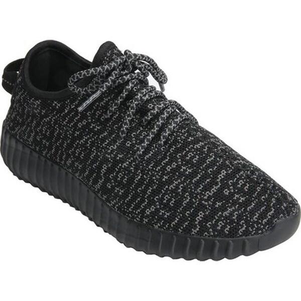 4317ff018dd5 Shop Bellini Women's Kato Stretch Knit Sneaker Black/Grey Fabric ...