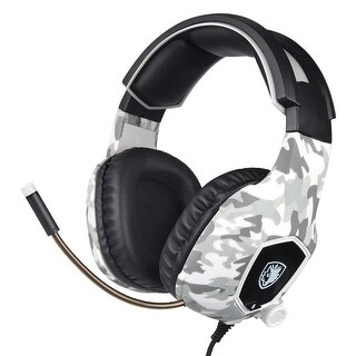 Sades SA-818 Bass Surround Headset Headphone for PS4 Xbox one PC with Mic - N/A