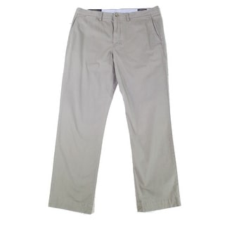 Link to Polo Ralph Lauren Mens Pants Gray Size 42x30 Twill Straight Stretch Similar Items in Big & Tall