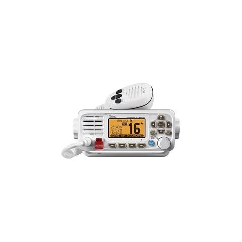 Icom M330 Compact VHF Radio With GPS - White M330 Compact VHF Radio with GPS - White