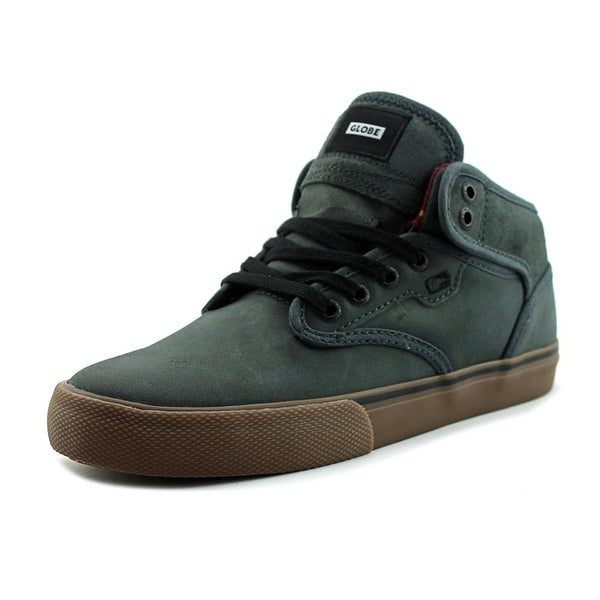 Shop Globe Motley Mid Men Dark Shadow Tobacco Skateboarding Shoes ... 9635e265f16