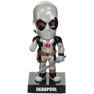 Funko Marvel Heroes: X-Force Deadpool Wacky Wobbler Statue - Multi-Colored