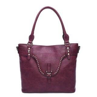 Wa Obi Sylvia Large Black Leather Carry All Shoulder Bag - Free ... 54856c8399