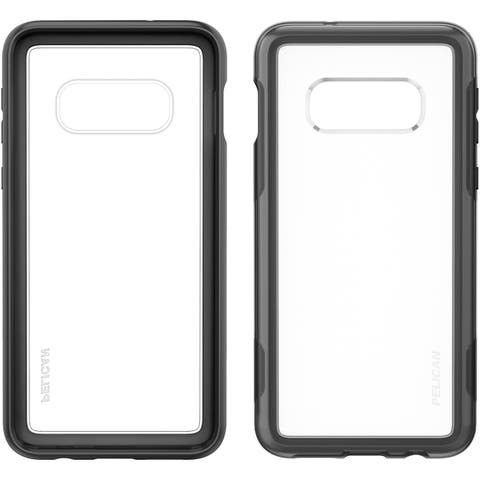 Pelican Adventurer For Samsung Galaxy S10E - Clear and Black Protective Case