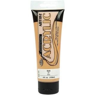 Essentials Acrylic Paint 4Oz-Gold