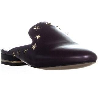 MICHAEL Michael Kors Natasha Flat Slide Mules, Damson - 8.5 us / 39 eu