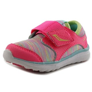 Saucony Kineta AC Running Shoes Youth W Round Toe Synthetic Pink Running Shoe