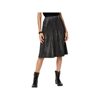 Armani Exchange Womens A-Line Skirt Pleated Office