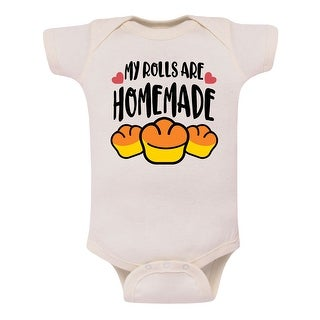 My Rolls Are Homemade Thanksgiving Infant - Thanksgiving Infant One Piece