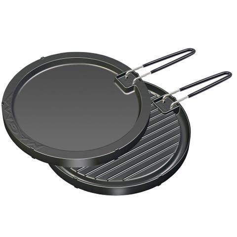 Magma products magma 2 sided non-stick griddle 11-1/2 round a10-196