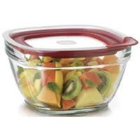 Rubbermaid 2856007 Container Food Storage Glass - 11.5 Cup