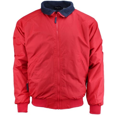 River's End Mens Bomber Jacket Athletic Outerwear Jacket