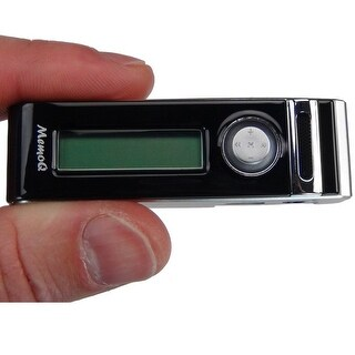 Memoq Mr-740 Mini Digital Voice Recorder With Built-In Speakers & Voice Activated Recording