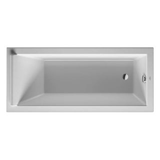 "Duravit 700335000000090 Starck New 66-7/8"" Drop In Acrylic Soaking Tub with Reversible Drain"