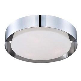 Eurofase Lighting 30105 Saturn 1 Light LED Flush Mount Ceiling Fixture