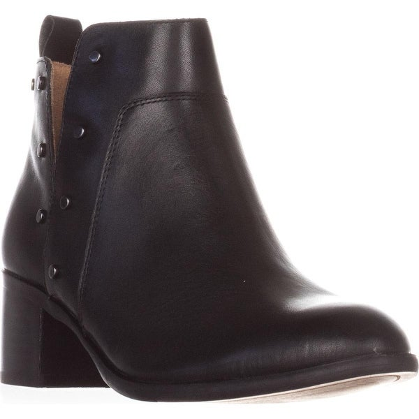 Franco Sarto Richland Studded Ankle Boots, Black
