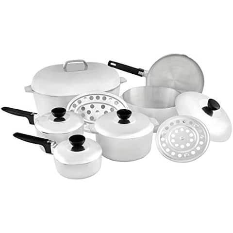 IMUSA IMU-89305 13-Piece Cajun Cookware Set, Aluminum - 13 Piece