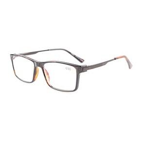 Eyekepper Crystal Clear Vision TR90 Frame Noline Bifocal Multifocus Glasses Tortoise +1.5