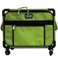 """Tutto 17"""" Small Carry-On/Small Machine on Wheels (Lime)"""
