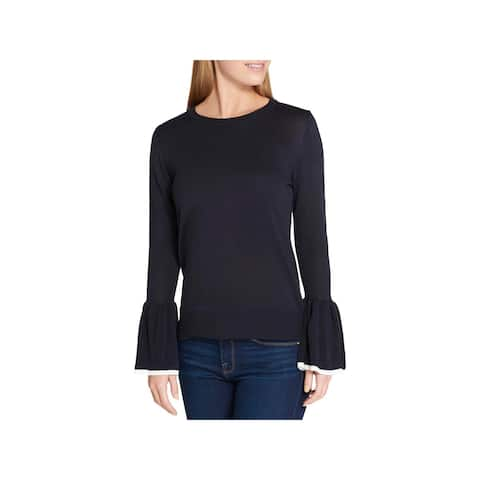 Tommy Hilfiger Womens Pullover Sweater Casual Lightweight