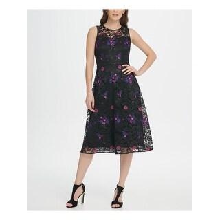 Link to DKNY Black Sleeveless Midi Dress 10 Similar Items in Headphones