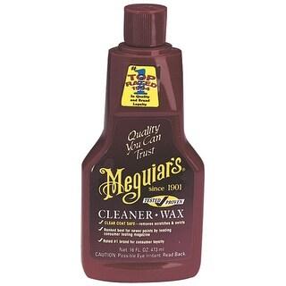 Meguiar's A1216 Car Cleaner/Wax, 16 Oz